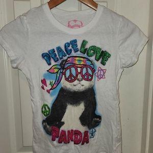 First Love Panda tee L (10-12)